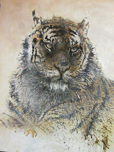 Le Parrain Tigre De Siberie